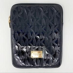 Michael Kors Black Logo Tablet/IPad Padded Case